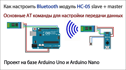 AT commands for Bluetooth HC05